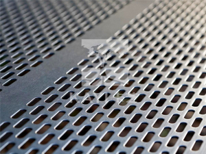 Slot Hole Perforated Metal