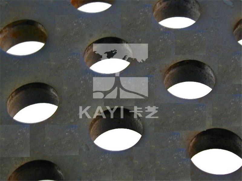 Rould Hole Perforated Metal